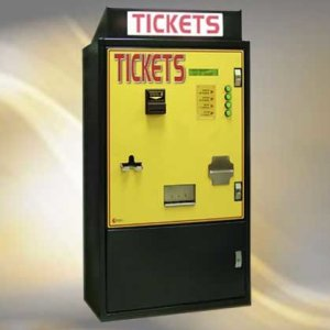 Standard Change Makers MC950-TIK Rear Loading Ticket Vending Machine | moneymachines.com