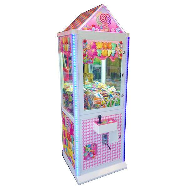Sweet Stuff Candy Crane Machine   moneymachines.com