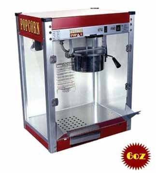 Theater Pop Popcorn Machine 6 Ounce | moneymachines.com
