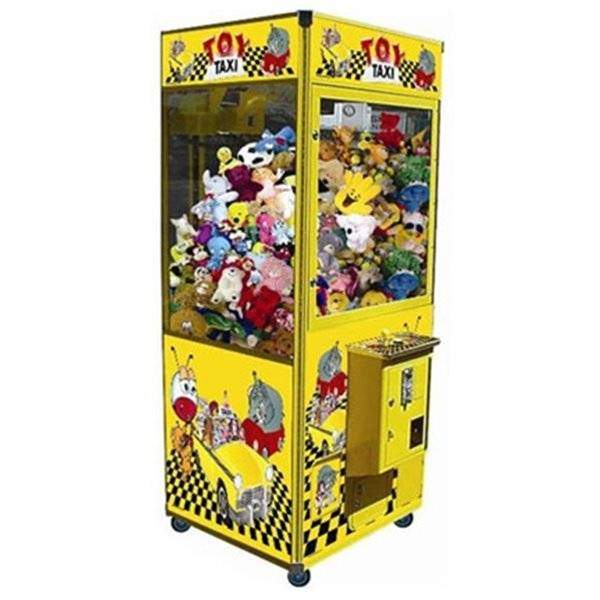 Toy Taxi Claw Skill Crane Game Machines | moneymachines.com