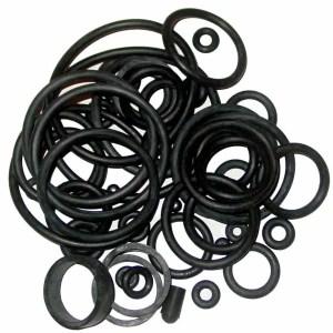 Universal Black Pinball Machine Rubber Ring Kit | moneymachines.com