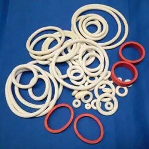 Pinball Machine White Rubber Rings