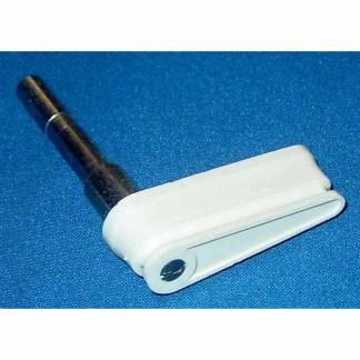 2 Inch Gottlieb Flat Top White Flipper Cap & Shaft | moneymachines.com
