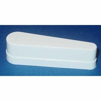 3 Inch Bally White Flipper Cap | moneymachines.com
