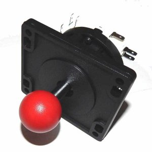 8 Way Red Ball Replacement Arcade Game Joystick | moneymachines.com