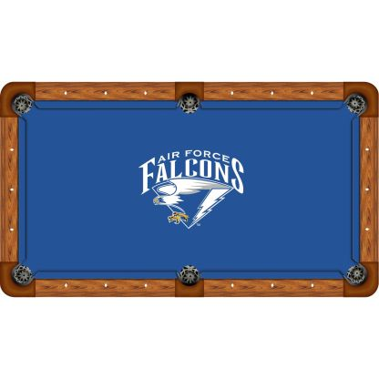 Falcons On Blue Billiard Table Cloth | moneymachines.com