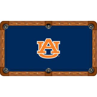 Auburn Tigers Billiard Table Cloth | moneymachines.com