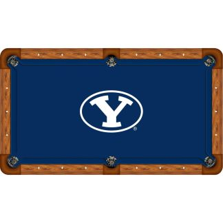 Brigham Young Cougars Billiard Table Cloth | moneymachines.com