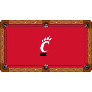 Cincinnati Bearcats Billiard Table Cloth | moneymachines.com