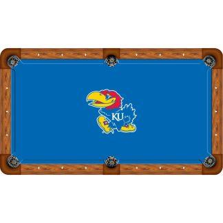 Kansas Jayhawks Billiard Table Cloth | moneymachines.com