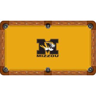 Missouri Mizzou Tigers Billiard Table Cloth | moneymachines.com