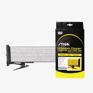 Stiga Premium Clipper Net & Posts - T1565 | moneymachines.com