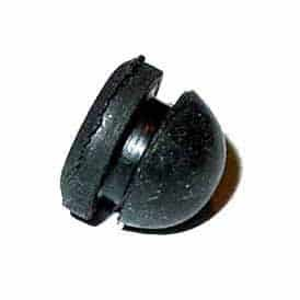 Black Flipper Stop Rubber Bumper | moneymachines.com