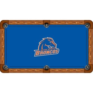 Boise State Billiard Table Cloth | moneymachines.com