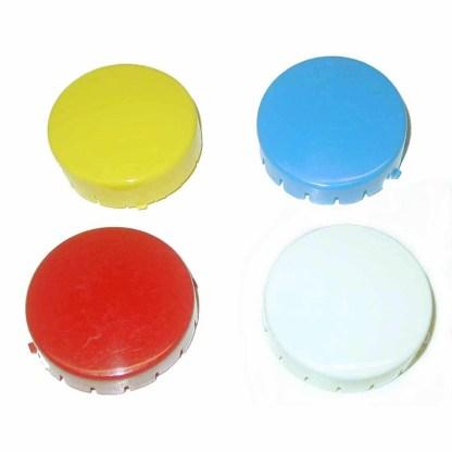 Plain Solid Color Pop Bumper Cap | moneymachines.com