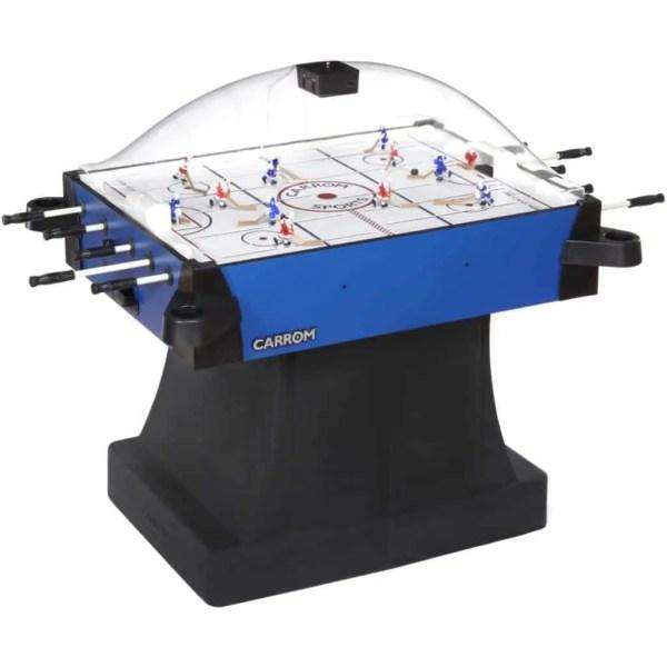 Carrom Signature Stick Hockey Table With Pedestal | 435.01 Blue | moneymachines.com