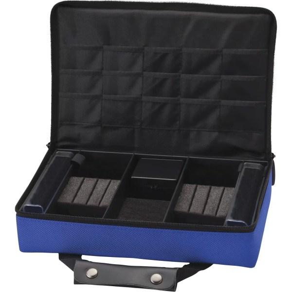 Casemaster Classic Blue Nylon Dart Case 2 Dart Sets | moneymachines.com