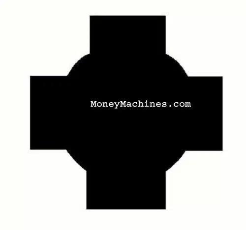 Classic Imported Gumball Vending Machine Lock And Key Profile Shape   moneymachines.com