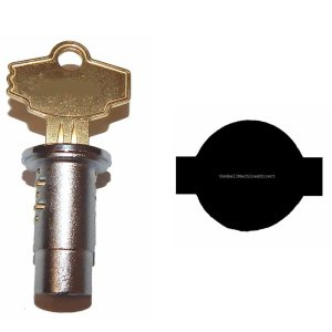 Delulxe A & A PN95 & PM Elite Vendor Standard Lock and Key   moneymachines.com