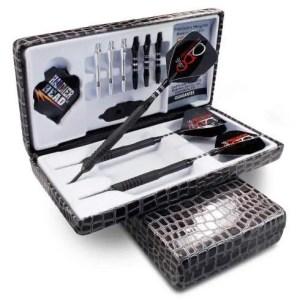 Hammer Head Precision Grip Coarse Knurl Black Steal Finish Dart Set | moneymachines.com