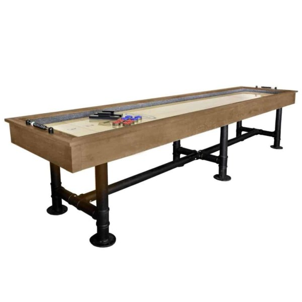 Imperial Bedford 12' Shuffleboard Table | Desert Chestnut | moneymachines.com