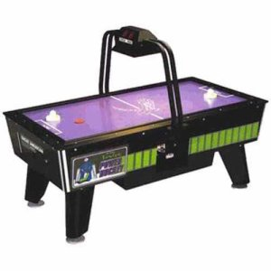 JUNIOR POWER HOCKEY Home Air Hockey Table With Overhead Electronic Scoring | moneymachines.com