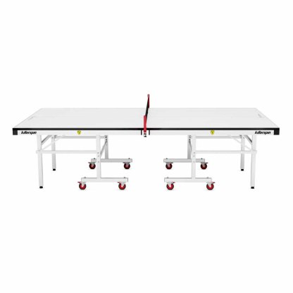 Killerspin MyT5 Bianco Pure Table Tennis Table Side View | moneymachines.com