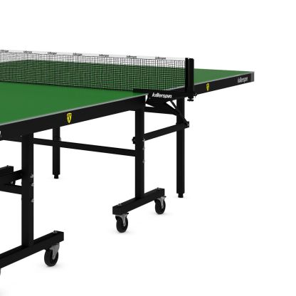Killerspin MyT10 EmeraldCoast Table Tennis Table Leg Net Detail | moneymachines.com