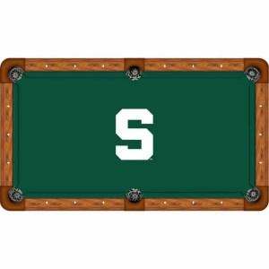 Michigan State Billiard Table Cloth   moneymachiines.com