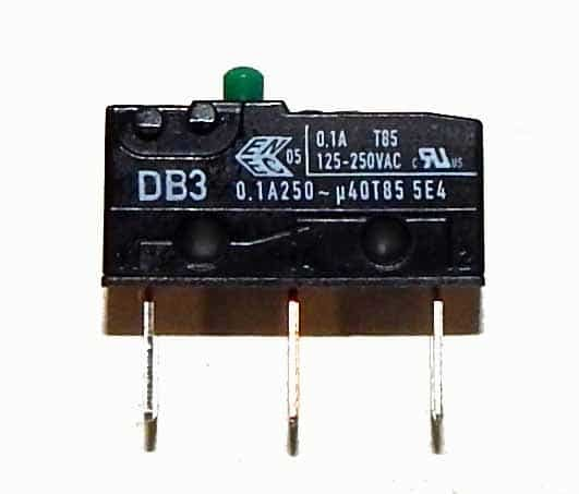 Micro Switch For Driver Arcade Game Shifters - DB3E-BGAF | moneymachines.com