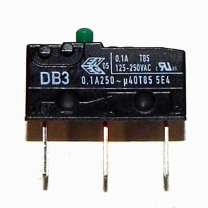 Micro Switch For Driver Arcade Game Shifters - DB3E-BGAF | moneymachines.com