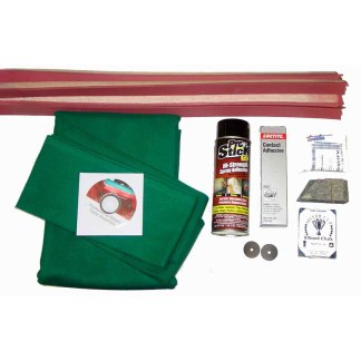 Pool Table Recovering Kits
