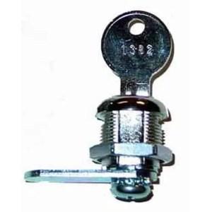 "Standard 5/8"" Cam Lock and Key | moneymachines.com"