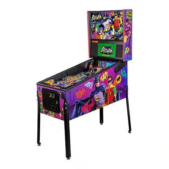 Stern Batman 66 Premium Pinball Game Machine | moneymachines.com