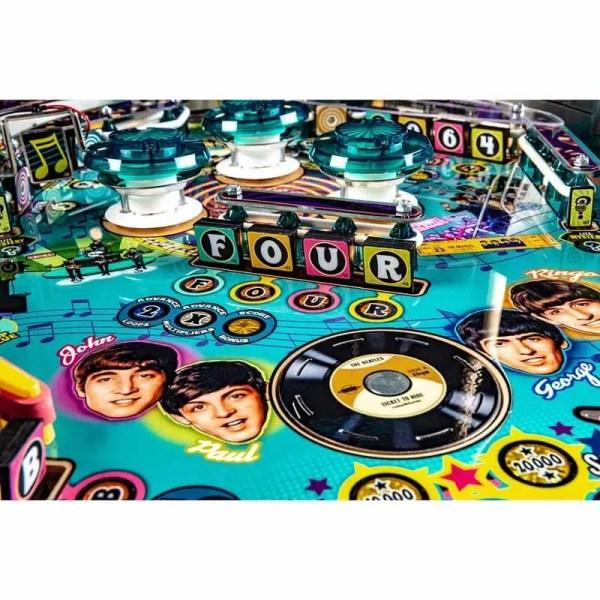 Stern Beatles Gold Edition Pinball Machine Turntable   moneymachines.com