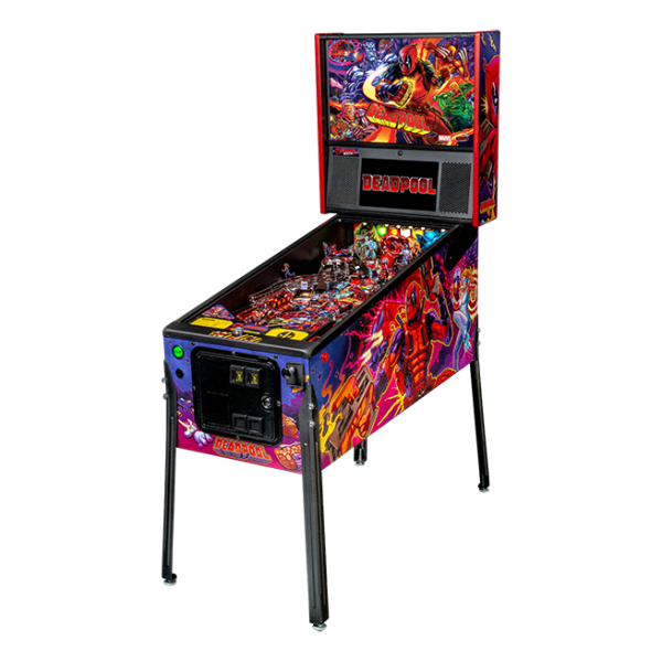 Stern Deadpool Pro Pinball Game Machine   moneymachines.com