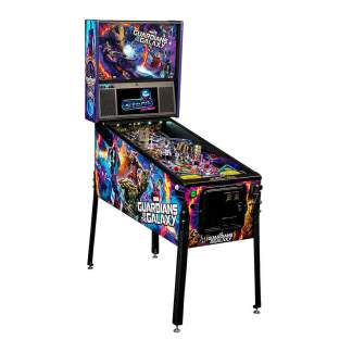 Stern Guardians Of The Galaxy Premium Pinball Game Machine | moneymachines.com