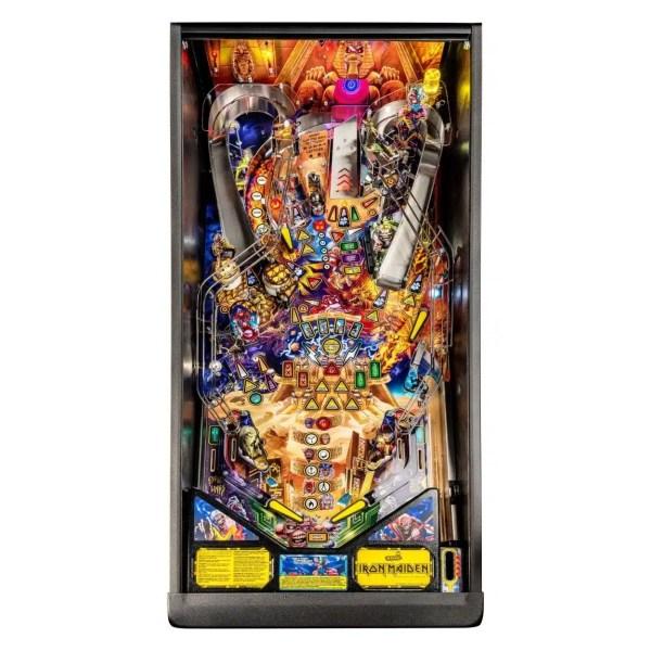 Stern Iron Maiden Pinball Game Machine Playfield   moneymachines.com