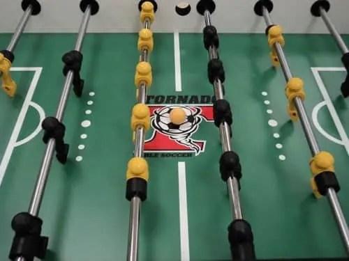 Tornado Tournament 3000 Foosball Table Playfield   moneymachines.com