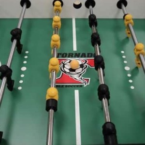 Tornado Tournament 3000 Foosball Table Playfield | moneymachines.com