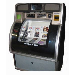Used Rowe/AMI CD 100G Jukebox Loaded With CDs   moneymachines.com
