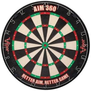 Viper AIM 360 Sisal Dartboard - 42-6008   moneymachines.com