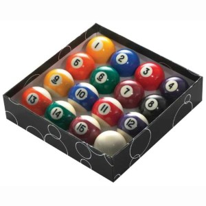 1st Quality Pool Ball Set | moneymachines.com