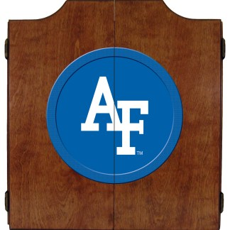Air Force Falcons College Logo Dart Cabinet | moneymachines.com