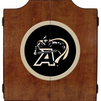 Army Black Knights College Logo Dart Cabinet | moneymachines.com