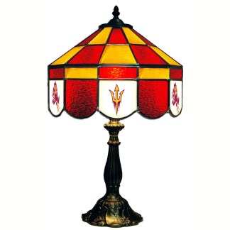 Arizona State Sun Devils Stained Glass Table Lamp | moneymachines.com