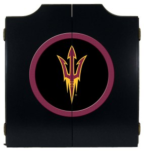 Arizona State Sun Devils College Logo Dart Cabinet | moneymachines.com