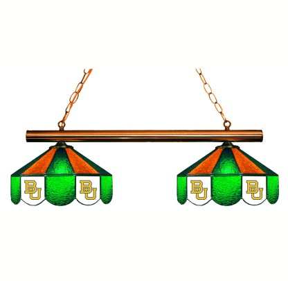 Baylor Bears Stained Glass Game Table Lamp | moneymachines.com