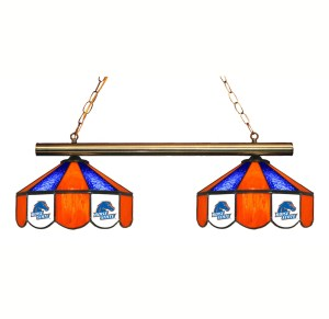 Boise State Broncos Stained Glass Game Table Lamp   moneymachines.com