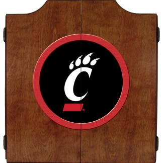 Cincinnati Bearcats College Logo Dart Cabinet | moneymachines.com